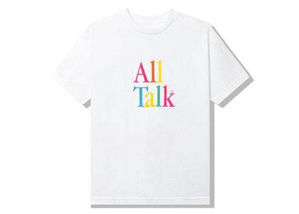 Anti Social Social Club All Talk White Tee White (SS21)の写真