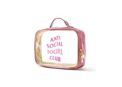 Anti Social Social Club Transparencies Pink (SS21)の写真