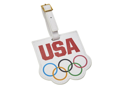 Kith for Team USA & Away Luggage Tag Olympics Rings Whiteの写真