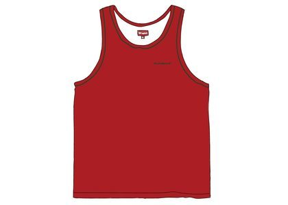 Supreme Piping Tank Top Redの写真