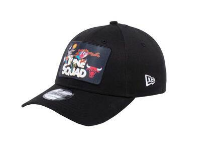 New Era 9forty Space Players Space Jam Tune Squad Chicago Bulls Blackの写真