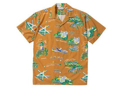 The Black Eye Patch Souvenir Aloha Shirt Khaki (SS21)の写真