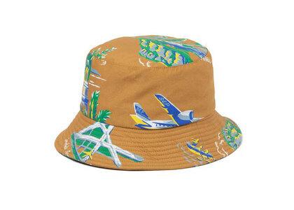 The Black Eye Patch Souvenir Aloha Bucket Hat Khaki (SS21)の写真