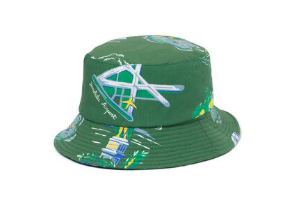The Black Eye Patch Souvenir Aloha Bucket Hat Olive (SS21)の写真