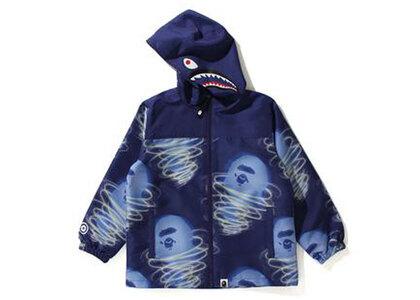 Bape Storm Shark Hoodie Jacket Purple (SS21)の写真