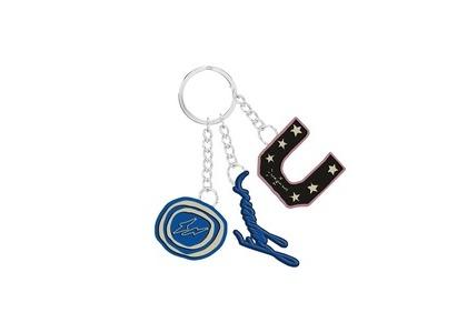 Cactus Jack For Fragment 3 Charm Keychain Blueの写真