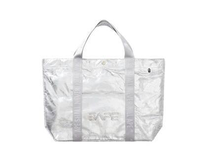 Bape × Hajime Sorayama Tote Bag Silver (SS21)の写真