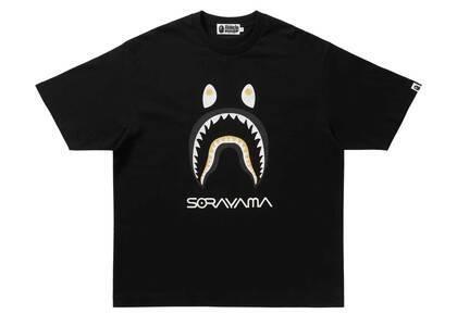 Bape × Hajime Sorayama Shark Tee Black (SS21)の写真