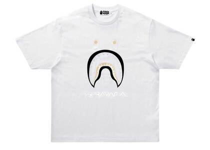 Bape × Hajime Sorayama Shark Tee White (SS21)の写真