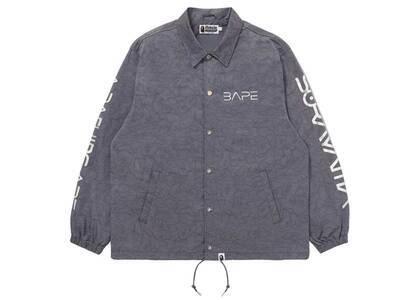 Bape × Hajime Sorayama Shark Coach Jacket Gray (SS21)の写真