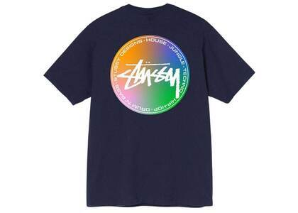 Stussy Dot Mix Tee Navy (SS21)の写真