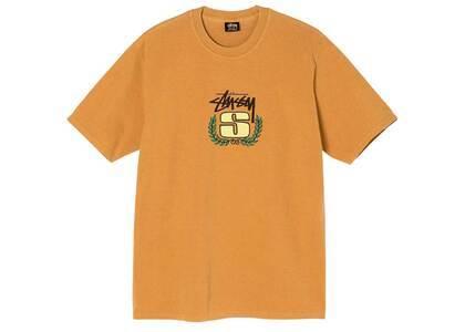 Stussy S Wreath Dyed Tee Orange (SS21)の写真