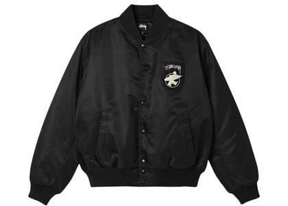 Stussy Surfman Stadium Jacket Black (SS21)の写真