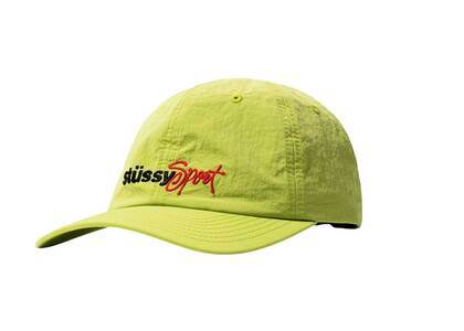 Stussy Washed Nylon Sports Cap Green (SS21)の写真