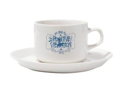 Stussy Positive Vibration Cup Saucer White (SS21)の写真