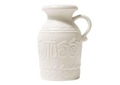 Stussy Heirloom Ceramic Vase White (SS21)の写真