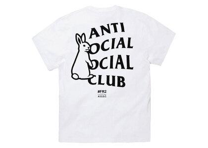Anti Social Social Club collaboration with #FR2 Rabbit Icon T-shirt Whiteの写真