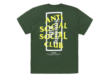 Anti Social Social Club collaboration with #FR2 Smoking kills T-shirt Greenの写真