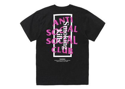 Anti Social Social Club collaboration with #FR2 Smoking kills T-shirt Blackの写真