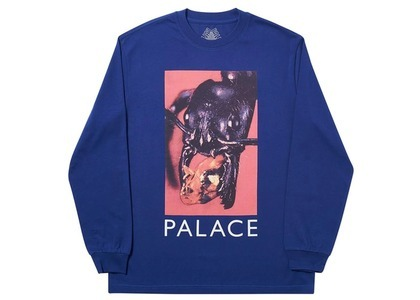 Palace Bug Munch Longsleeve Blue  (FW19)の写真