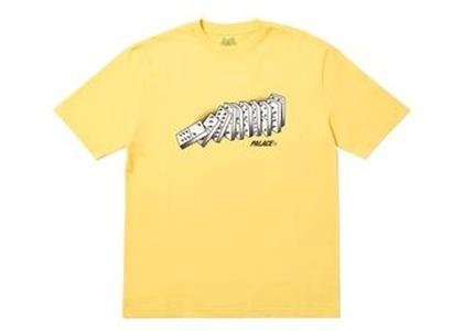Palace Domino T-Shirt Yellow  (FW19)の写真