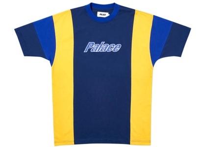 Palace Duo Panel T-Shirt Navy  (FW19)の写真