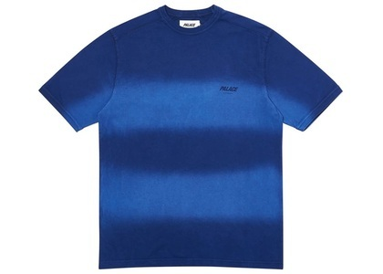 Palace Fader Dip Dye T-Shirt Blue  (FW19)の写真