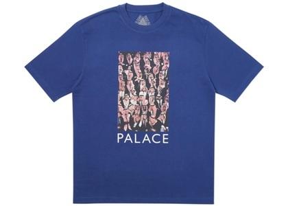 Palace Large Up T-Shirt Blue  (FW19)の写真