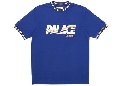 Palace London Wave T-Shirt Navy  (FW19)の写真