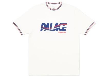 Palace London Wave T-Shirt White  (FW19)の写真