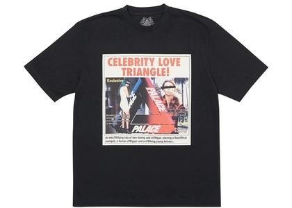 Palace Love Triangle T-Shirt Black  (FW19)の写真