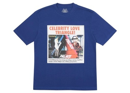 Palace Love Triangle T-Shirt Blue  (FW19)の写真