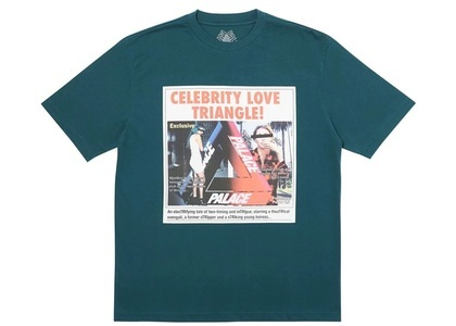 Palace Love Triangle T-Shirt Dark Green  (FW19)の写真