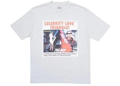 Palace Love Triangle T-Shirt Grey Marl  (FW19)の写真