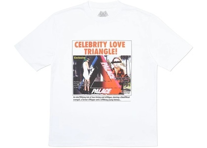 Palace Love Triangle T-Shirt White  (FW19)の写真