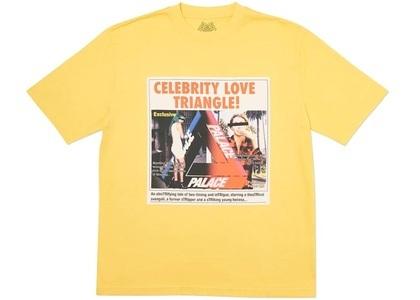 Palace Love Triangle T-Shirt Yellow  (FW19)の写真