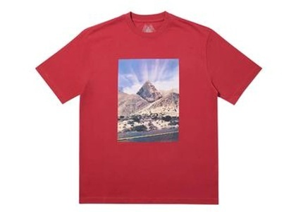 Palace P-Sprang T-Shirt Dark Red  (FW19)の写真
