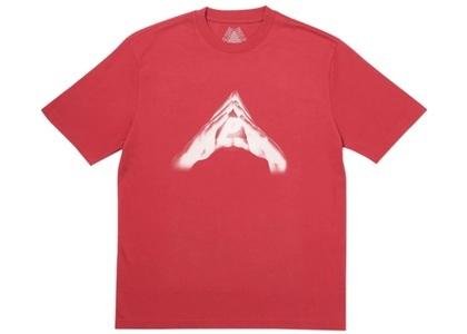 Palace P's Open Doors T-Shirt Dark Red  (FW19)の写真