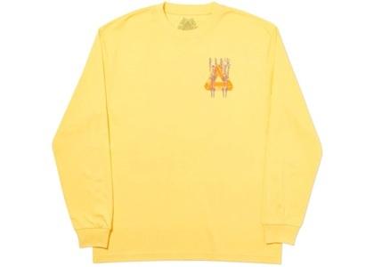Palace Pair Of Hippys Longsleeve Yellow  (FW19)の写真