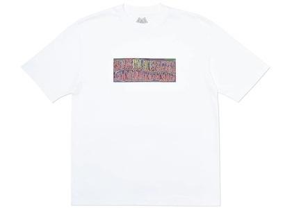 Palace Super Palace T-Shirt White  (FW19)の写真