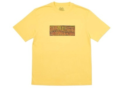 Palace Super Palace T-Shirt Yellow  (FW19)の写真