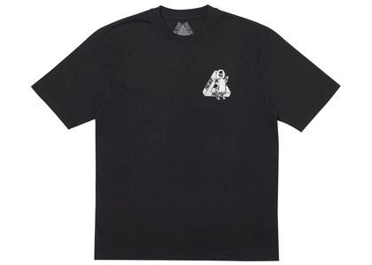 Palace U Figure T-Shirt Black  (FW19)の写真