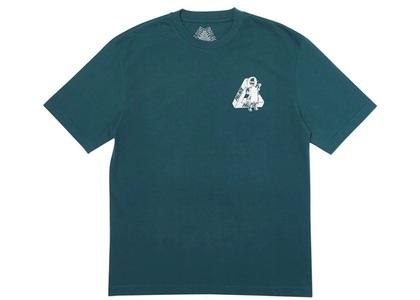 Palace U Figure T-Shirt Dark Green  (FW19)の写真