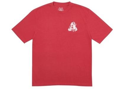 Palace U Figure T-Shirt Dark Red  (FW19)の写真