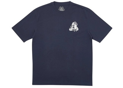 Palace U Figure T-Shirt Navy  (FW19)の写真