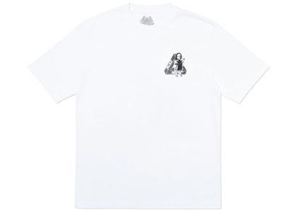 Palace U Figure T-Shirt White  (FW19)の写真