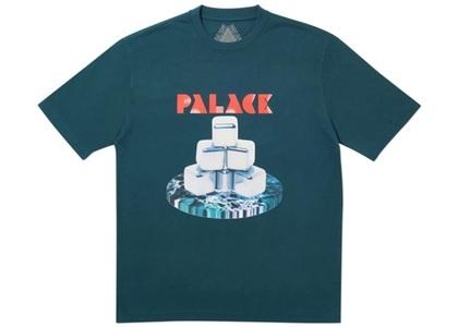 Palace Cubes T-Shirt Dark Green  (FW19)の写真