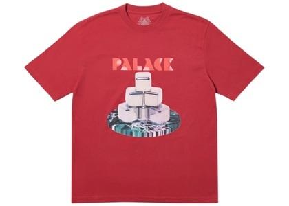 Palace Cubes T-Shirt Dark Red  (FW19)の写真