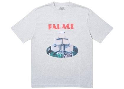 Palace Cubes T-Shirt Grey Marl  (FW19)の写真