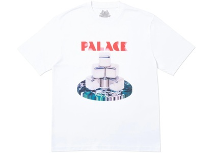 Palace Cubes T-Shirt White  (FW19)の写真